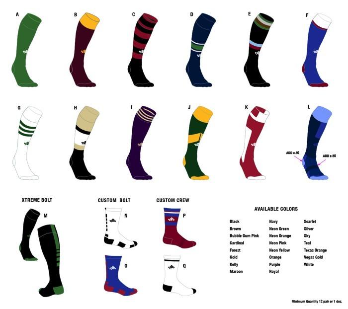 de4ea5d626d2 Custom Sock Styles. Stacks Image 2971